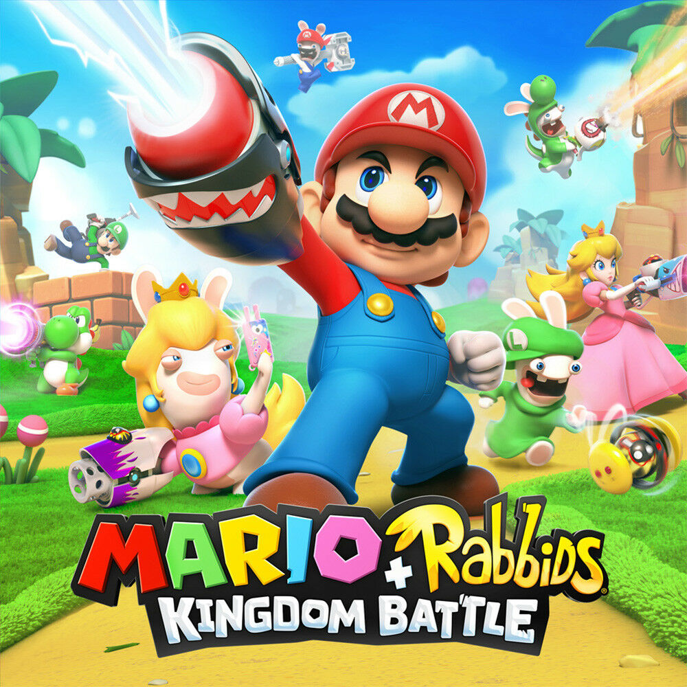Mario + Rabbids Kingdom Battle (nintendo Switch, 2017) Ne...