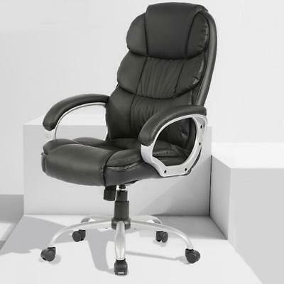 Office Desk Chair Ergonomic Swivel Executive Adjustable Computer Chair High (Back Office Desk Chair)