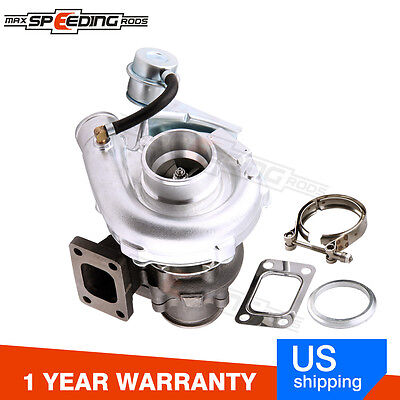 T04E T3 T4 .63 A/R 44 Trim Turbo Charger Compressor 400+HP Stage III Wastegate