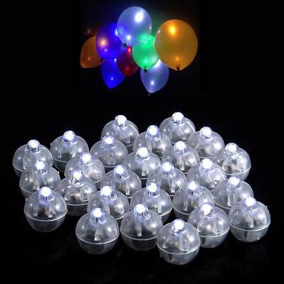 50 Led Ball Lamps Balloon Light for Paper Lantern Wedding Pa