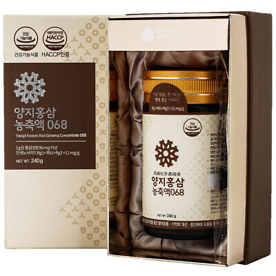 [Express] YANGJI Korean Red Ginseng Concentrate Extract 240g Ginsenoside 11mg/g