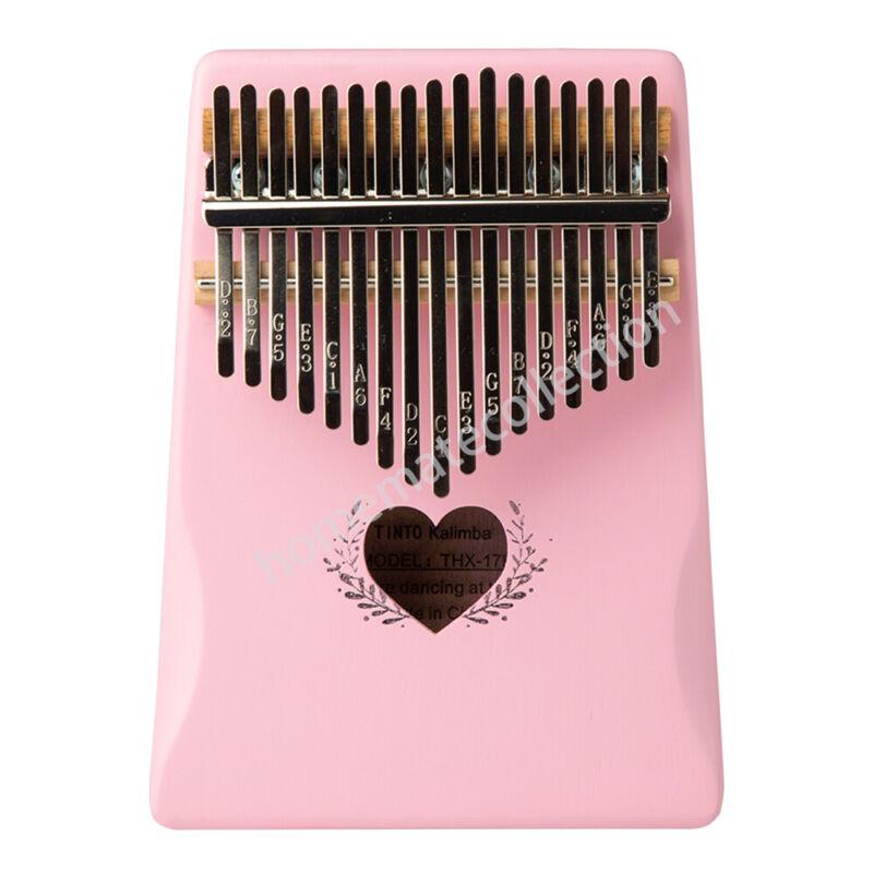 17 Key Kalimba Thumb Piano High-Quality Wood Body Sanza Mbira Musical Instrument