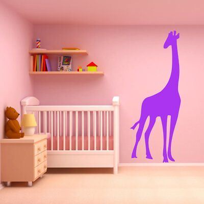 Giraffe Wandaufkleber Safari Tiere Wandtattoo Kinder Schlafzimmer Haus Dekor