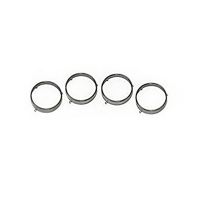 "1964-1972 GM A Body Stainless Steel Headlight Retainer Trim Rings 5 3/4"" 4PC"