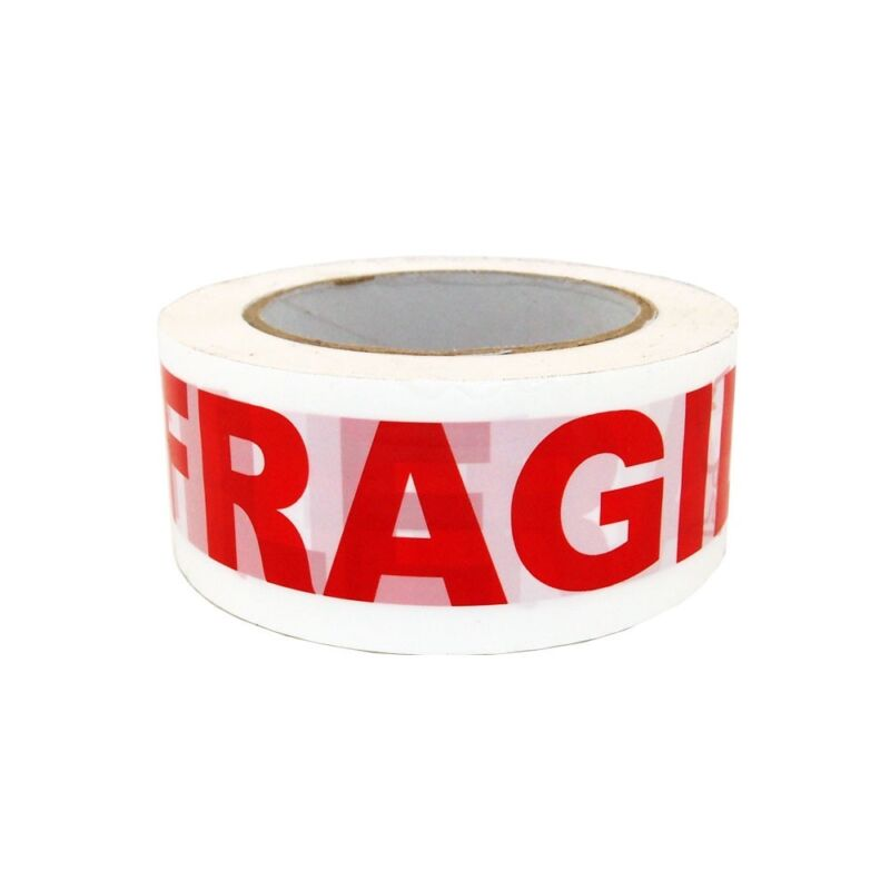 """12 Rolls 2""""x110 Yards Fragile Handle with Care Packing Shipping Box Sealing Tape"""