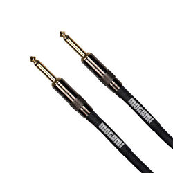 Mogami Platinum Guitar Bass Keyboard Instrument Cable 1/4 TS Straight 6 ft