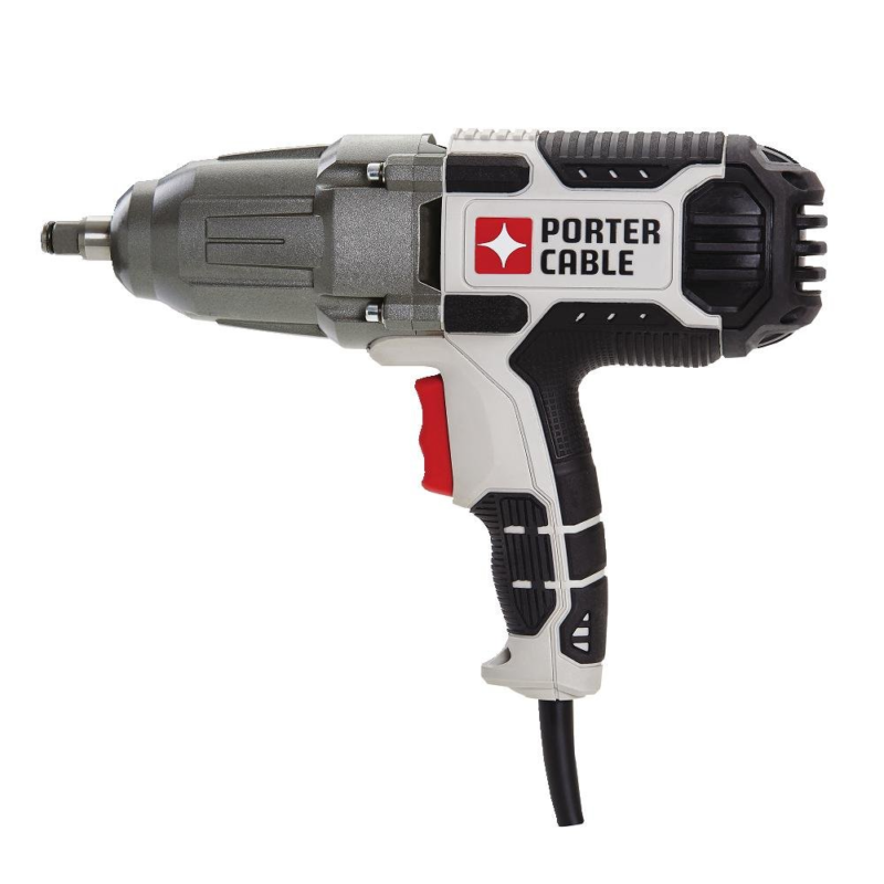 PORTER-CABLE Impact Wrench, 7.5-Amp, 1/2-Inch