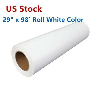 Us 29x98 Eco-solvent Printable Heat Transfer Vinyl Film For Dark Tshirt Fabric