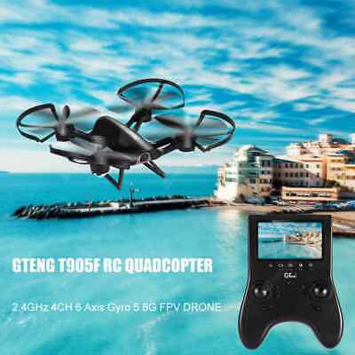 GTENG T905F 720P HD Camera 2.4GHz 4CH 6 Axis Gyro 5.8G FPV Drone RC Quadcopter H