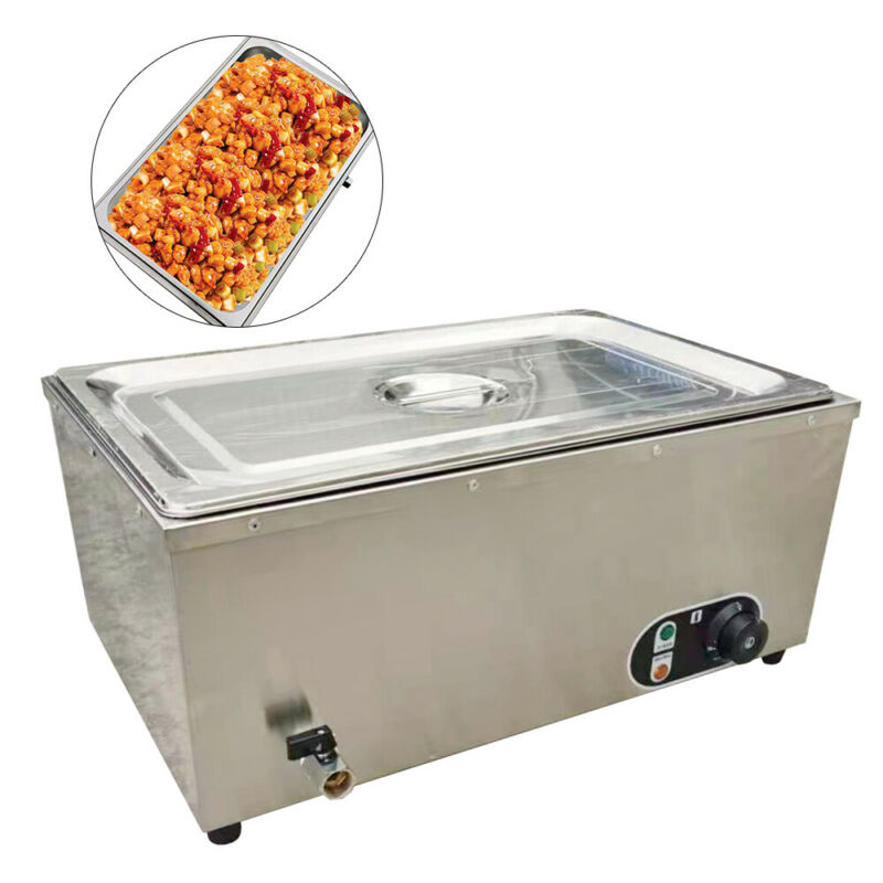Electric Countertop Buffet Food Soup Pool Commercial Tea Restaurant Equipment US