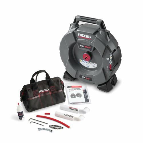 RIDGID FlexShaft Machine, K9-102 64263 Drain Cleaner
