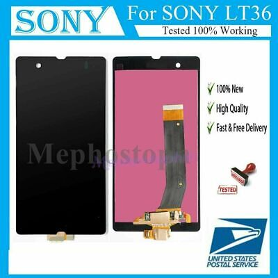 For Sony Xperia Z LT36i C6603 C6602 LCD Screen Replacement Touch Digitizer -
