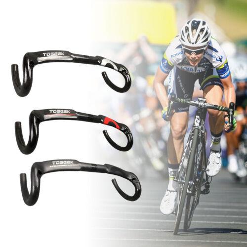 U UD Carbon Fiber Road Bike Handlebar Racing Drop Bar Bicycle Handlebar Bend Bar