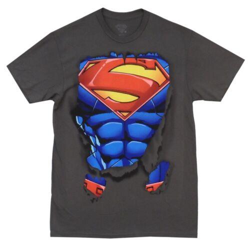 Superman Vintage Stance DC Comics Licensed Adult T-Shirt