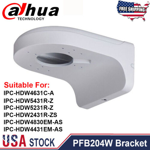 Dahua PFB204W Waterproof Wall Mount Bracket For Dome IP Camera IPC-HDW4631C-A US
