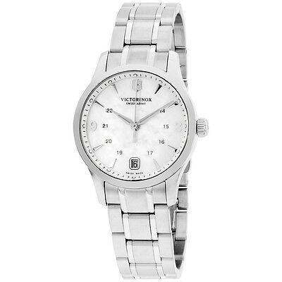 Victorinox Women's 249061 Alliance Analog Display Swiss Quartz Silver Watch