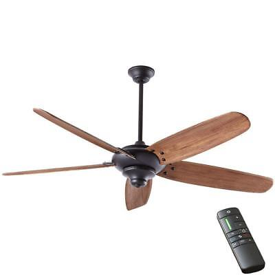 "Home Decorators  Altura DC 68"" Indoor Matte Black Ceiling Fan w/Remote Control"