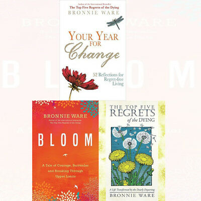 Bronnie Ware Collection the Top Five Regrets of the Dying Bloom 2 Books Set (The Top Five Regrets Of The Dying)