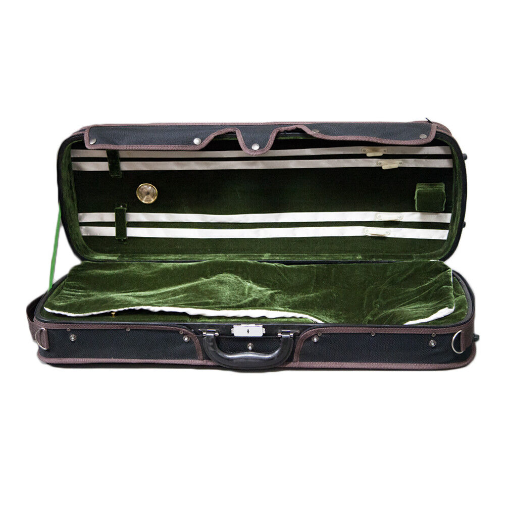 """High Quality 16 /""""Viola Case Lightweight with Hygrometer Black//Grey Free Shipping"""