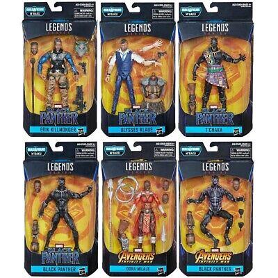 Marvel Legends Black Panther M'Baku Wave Set Of 6 Action Figures IN STOCK