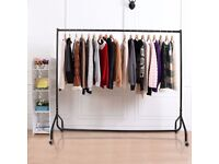 Clothes Hanging Rail Heavy Duty 6ft Great Condition