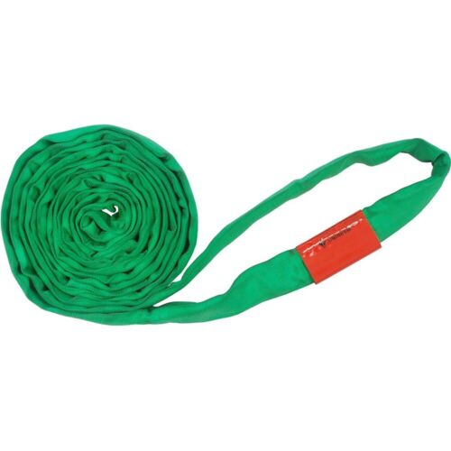 Polyester Lift Sling Endless Round Sling Green 6000LBS Vertical, 18