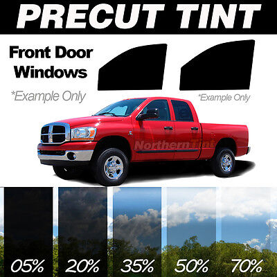 PreCut Window Film for Toyota Tacoma Ext 05-11 Front Doors any Tint Shade