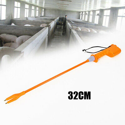Rechargeable Livestock Cattle Pig Prod Handle Electric Stock Shock 32cm Safe