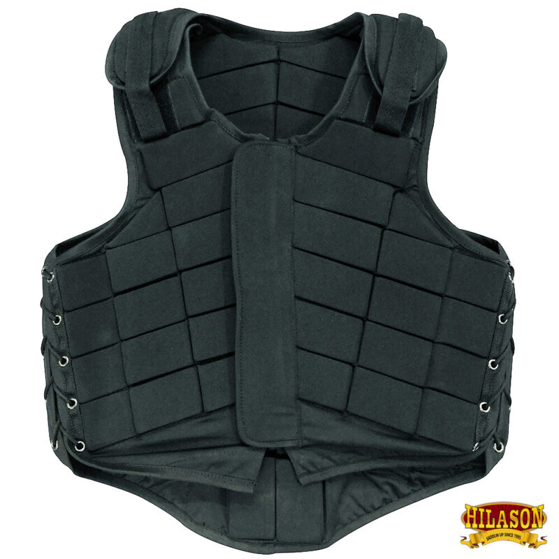 Equestrian Horse Riding Vest Safety Protective Hilason Adult Eventing U-8-VX