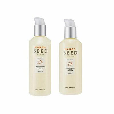 The Face Shop Mango Seed Silk Moisturizing Set ( Lotion 145ml+Toner 160ml)