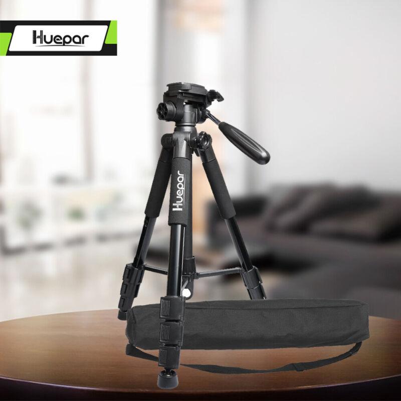 Huepar Multi function Travel Camera Tripod 143cm Adjustable Laser Level Tripod