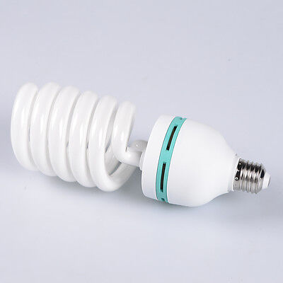 Pro 85W 5500K Photography Studio Compact Fluorescent Spiral Bulb Day Light Lamp 85w Compact Fluorescent Bulb