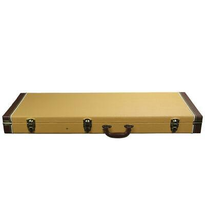 Universal Heavy Duty Electric Guitar Case Faux Ostrich Skin Hard shell Uni-Case