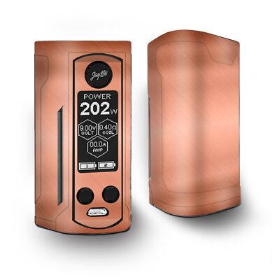 Skin Decal for Wismec Reuleaux RX Gen3 Dual Vape / Copper Panel