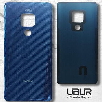 Huawei Mate 20 Back Cover Blau Blue Akkudeckel Battery Kleber Blau Back Cover