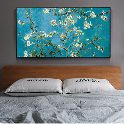 Almond Blossom Paintings On The Wall By Van Gogh Impressionist Almond Blossom ()