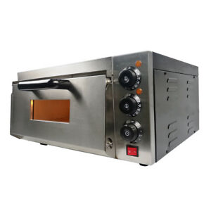 Electric Pizza Oven Single Deck Commercial  Baking  16
