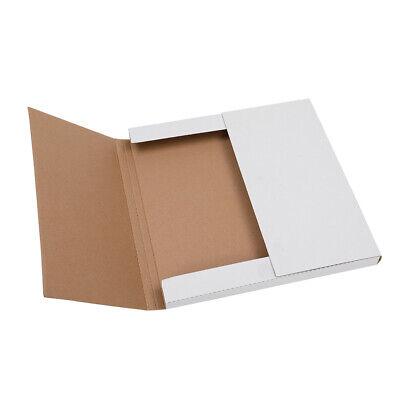 25 Lp Premium Record Album Mailers Book Box Variable Depth Laser Disc Mailers