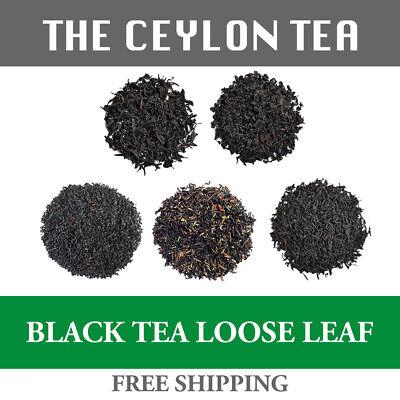 CEYLON BLACK TEA Loose Leaf with FREE SHIPPING from Sri Lanka Sri Lanka Black Tea