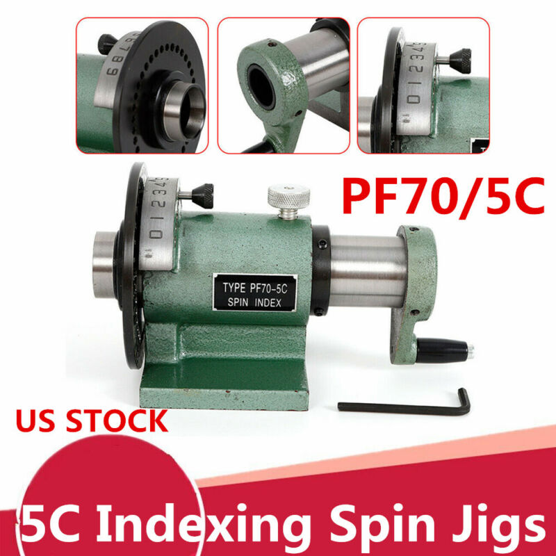 Heavy Duty 5C Indexing Spin Jig Fixture Model For Grinders, Milling Machines