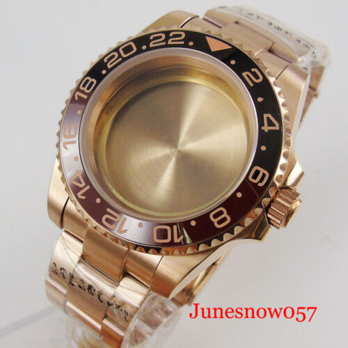 Japan NH35 NH36 NH35A Watch Case Watch Bracelet Sapphire Crystal Screw Backcover
