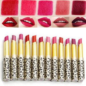 Sexy 12 Colors Leopard Lipstick Set Lip Gloss Long Lasting Cosmetic Wholesale