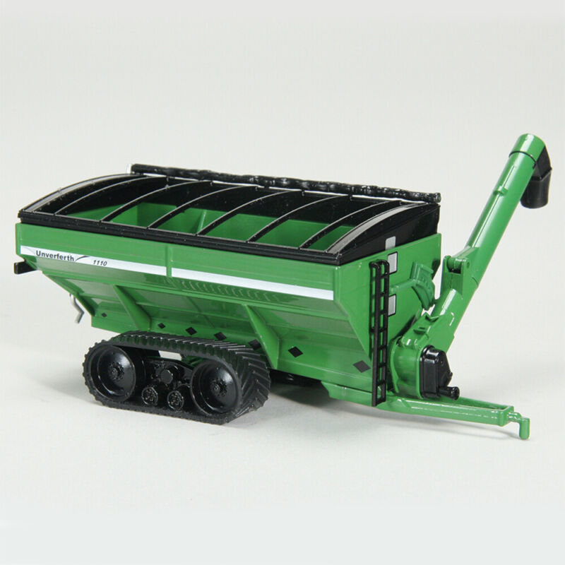 Unverferth Toy 1/64 Scale Green Grain Cart with Tracks Part # UBC 005