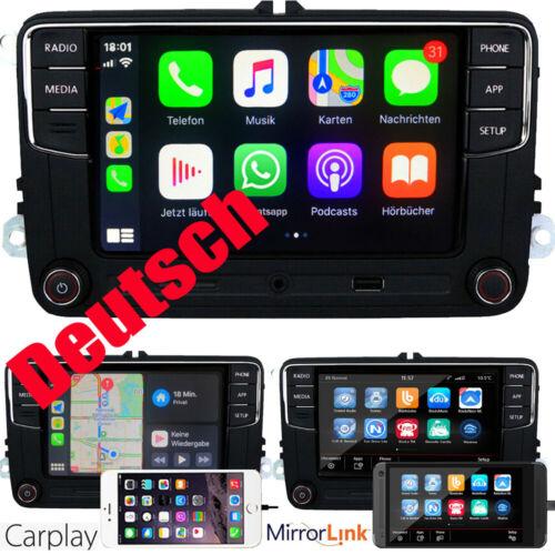 Autoradio RCD330 Deutsch CarPlay BT RVC USB Für VW GOLF5 6 POLO CADDY EOS TIGUAN