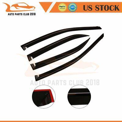 4x Fit For Toyota Corolla 2009 2010 car sun rain window visor shield deflector