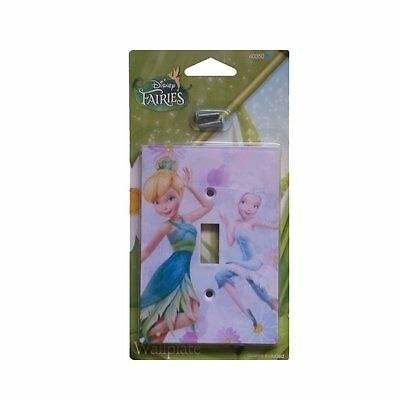 Disney Fairy Switch Plate - Tinkerbell & Periwinkle - The Secret of the Wings  - Periwinkle Secret Of The Wings