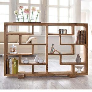 raumteiler holz m bel wohnen ebay. Black Bedroom Furniture Sets. Home Design Ideas