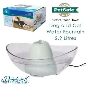 NEW PetSafe Drinkwell Sedona Dog and Cat Water Fountain, 2.9 Litres Condtion: New