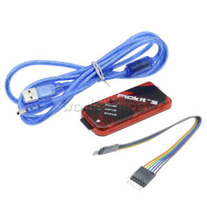 PICkit3 Microchip Original MPLAB PICkit 3 PIC In-Circuit Debugger Programmer