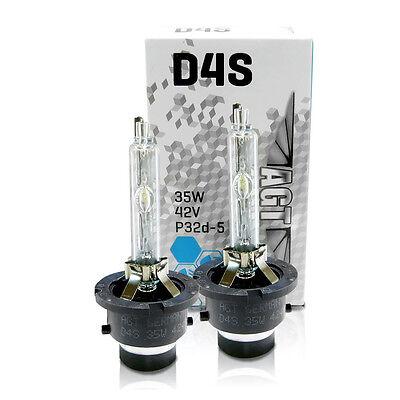 2x NEW! GENUINE OEM! AGT D4S Xenon BULBS HID HEAD LIGHT LAMP PAIR HEADLIGHT